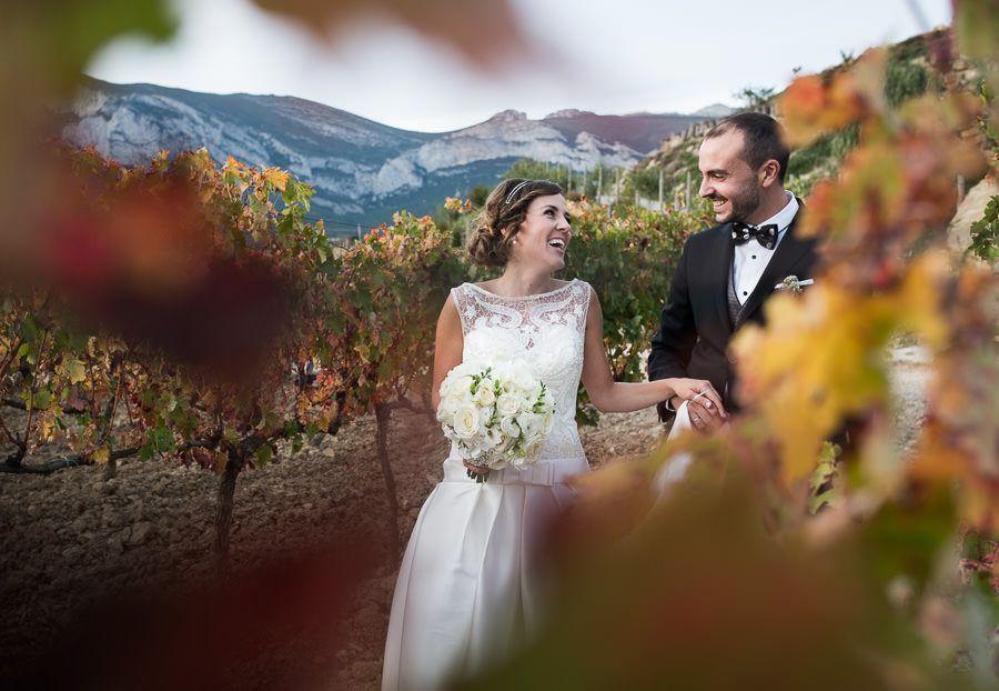 boda en bodega Eguren Ugarte
