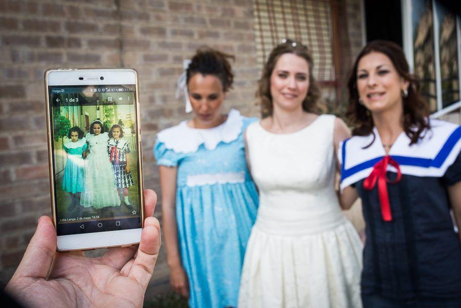 Fotografo de bodas novia Nacho Bueno