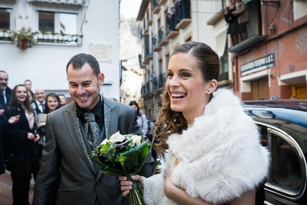 novios ceremonia de boda en Cervera
