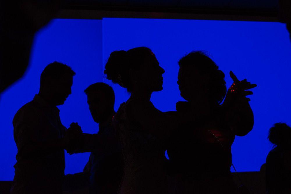 fotografo bodas la rioja baile novios azul