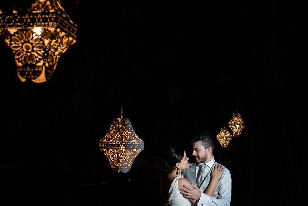 zona chic pareja de boda