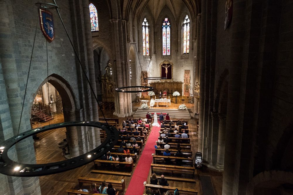 boda iglesia de san nicolas pamplona
