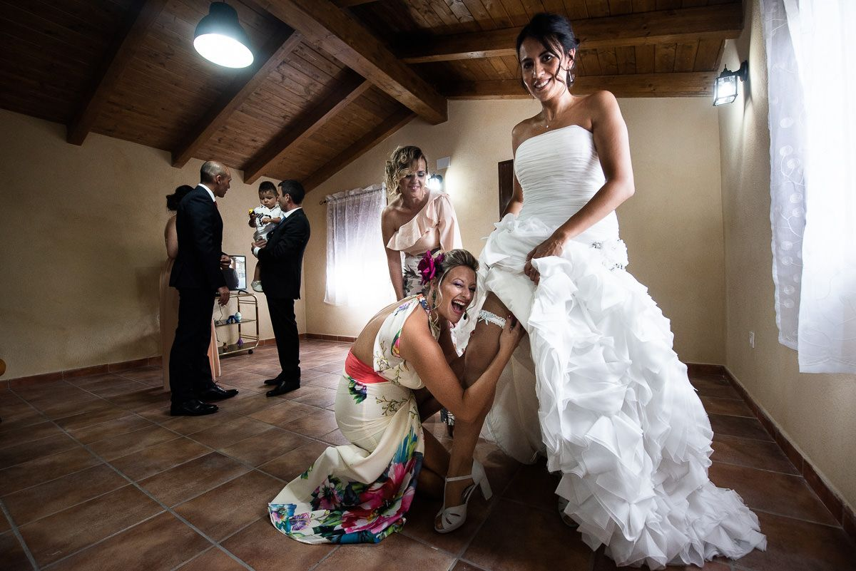 boda en litago novia