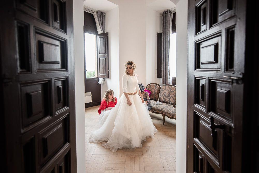 boda en palacio de la vega Marisol novia