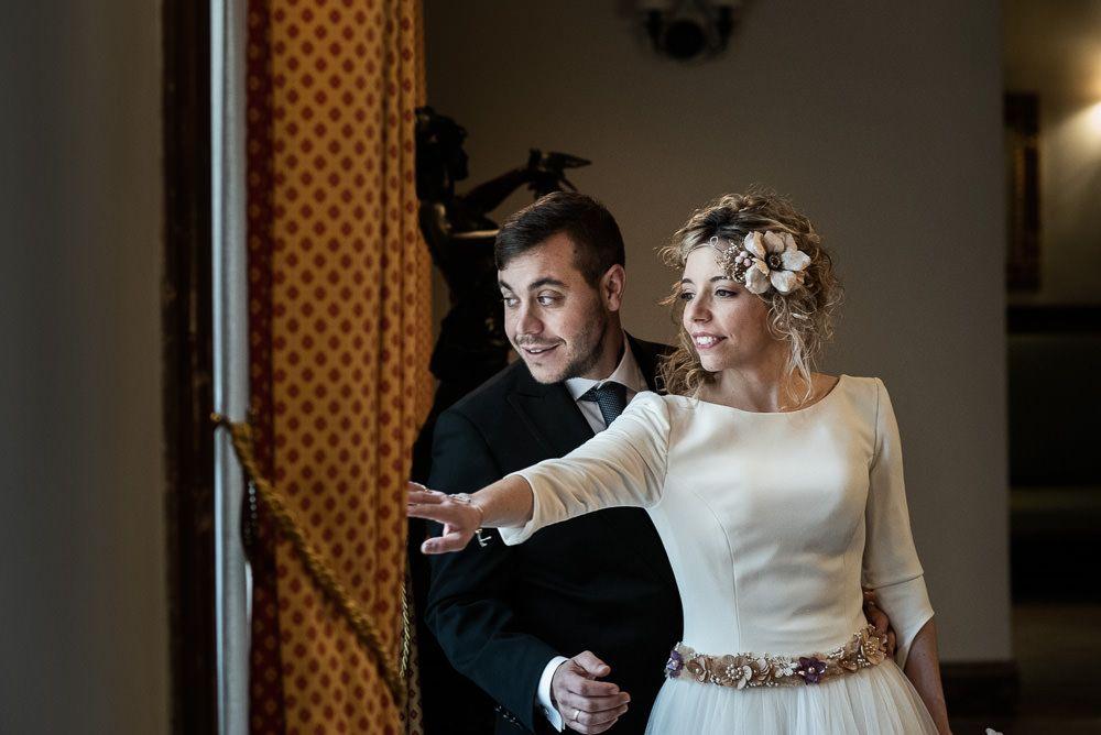 boda en palacio de la vega Marisol pareja
