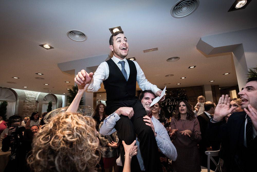 boda en palacio de la vega Marisol novio