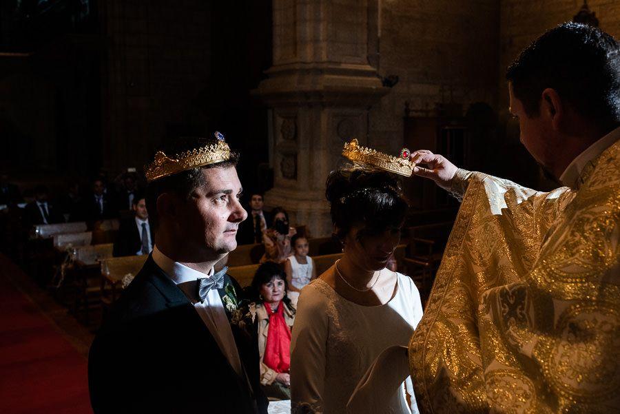 boda rumana coronas