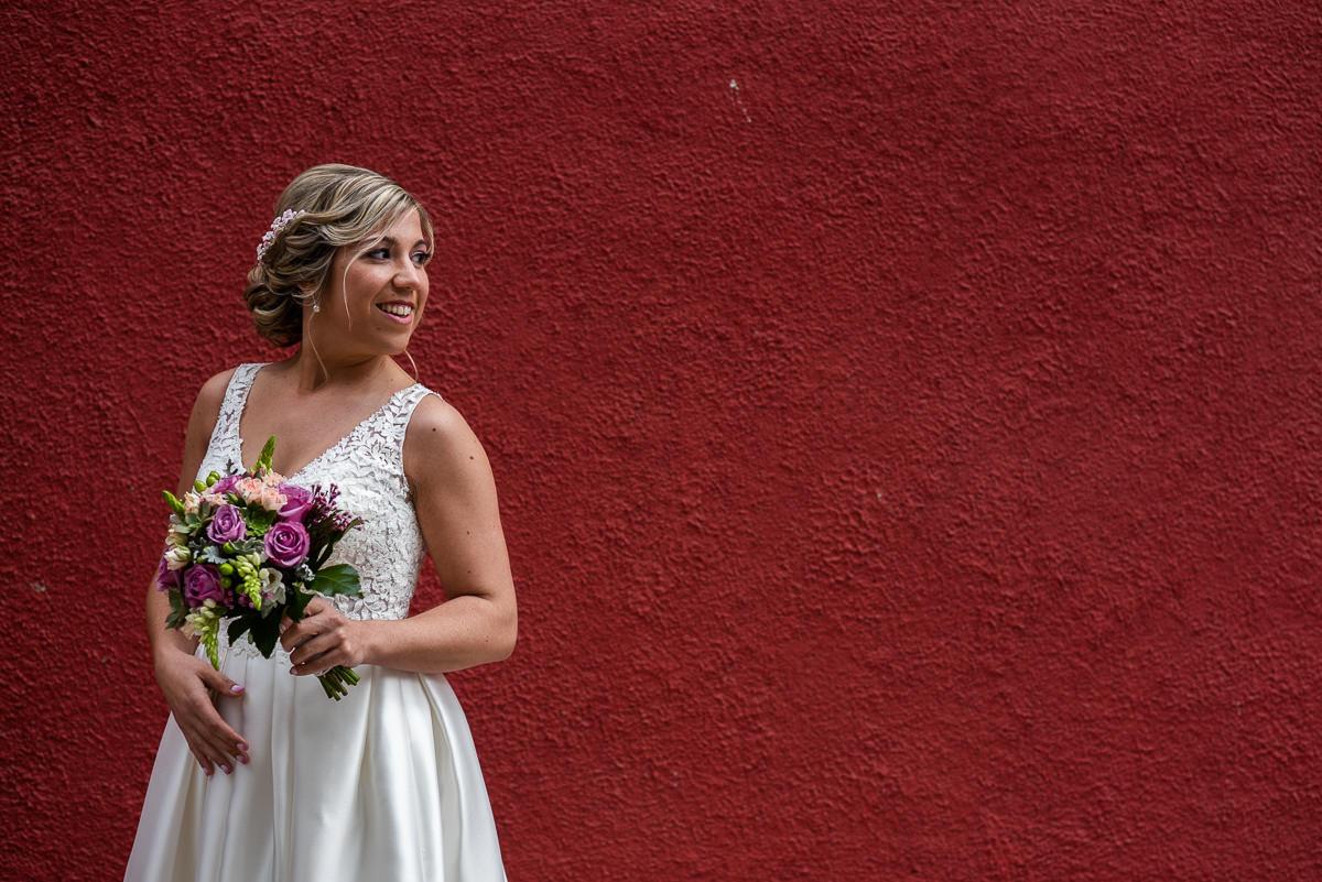 fotografo de bodas retrato novia