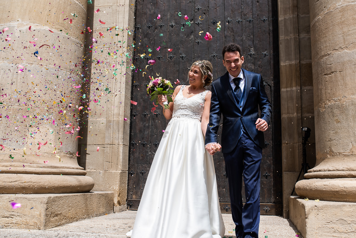 fotografo de bodas en navarra salida