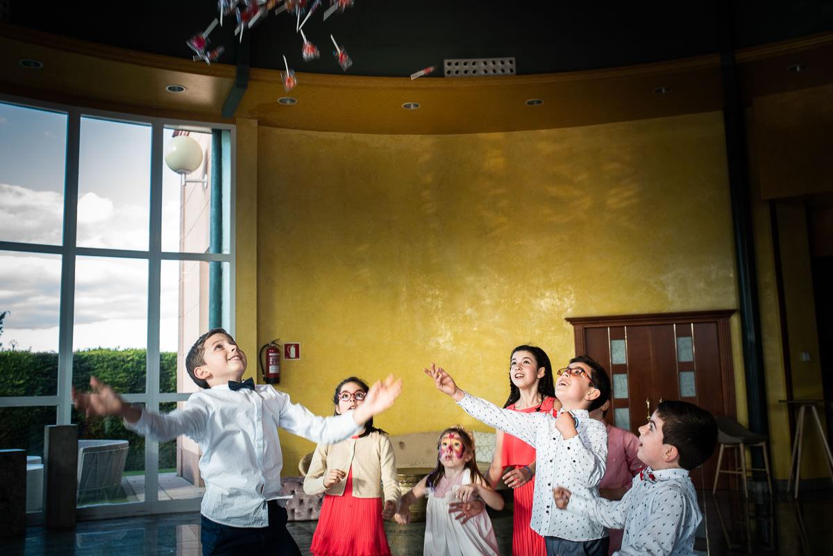 fotografo de bodas en navarra niños