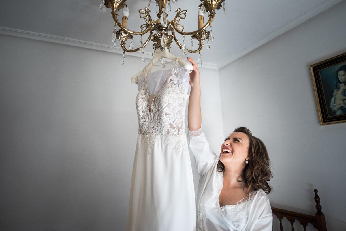 eva la novia soriana vestido