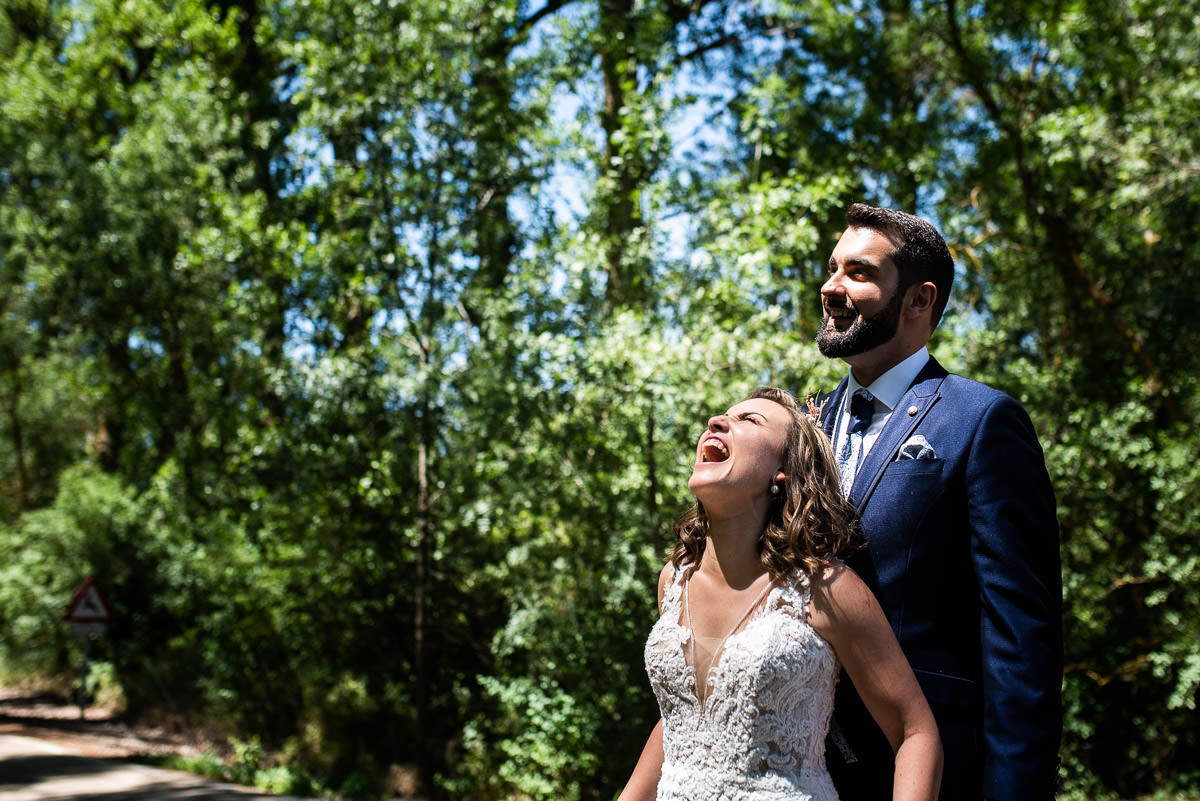 la novia grita