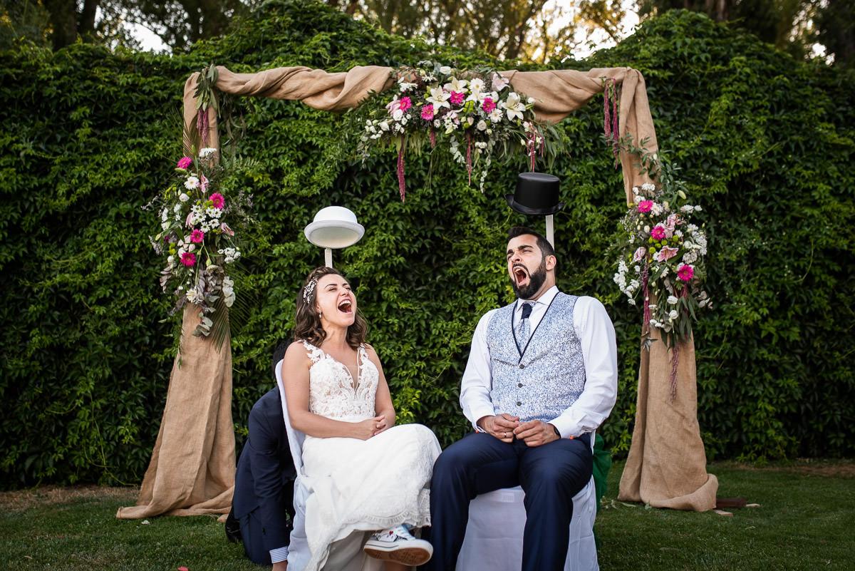 reportaje de boda original
