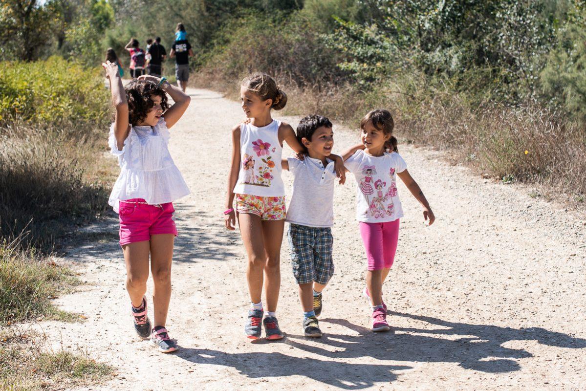 fotografo de familias de paseo